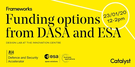 Funding Grant Options from DASA and ESA tickets