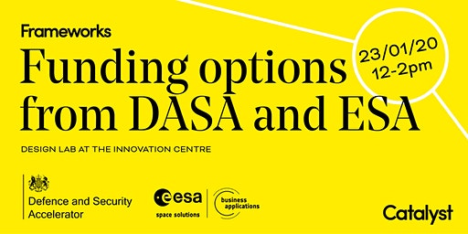 Funding Grant Options from DASA and ESA