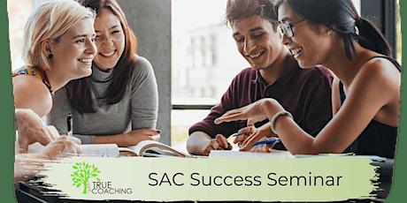 True Coaching: SAC Success Seminar 18th July 2020 tickets