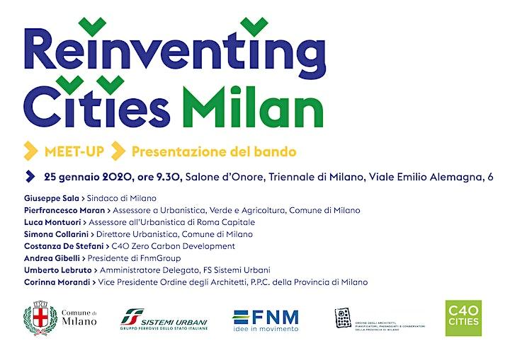 Immagine Reinventing Cities Milano2030