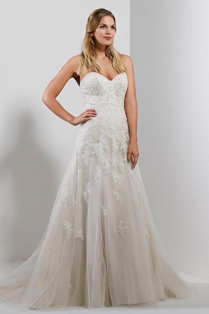 The Ultimate Designer Wedding Dress Sale at The Ba image