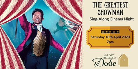 The Greatest Showman - Cinema Night tickets