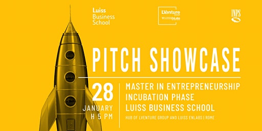 PITCH SHOWCASE | MASTER IN ENTREPREURSHIP Incubation Phase