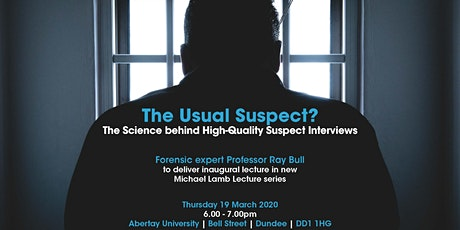 Michael Lamb Lecture: The Usual Suspect? tickets