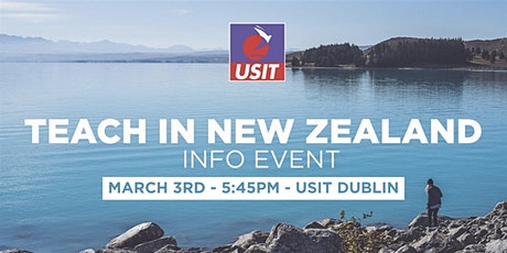 Teach in New Zealand - Info Talk tickets