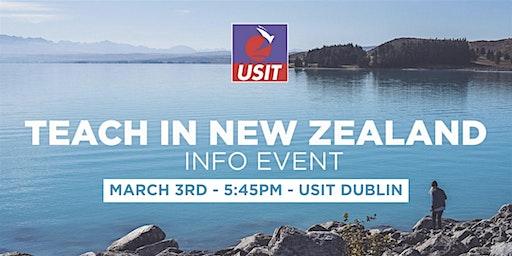 Teach in New Zealand - Info Talk
