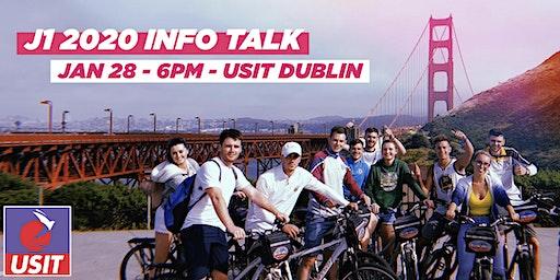 J1 2020 Info Talk - Dublin
