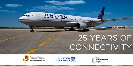 25 Years of Connectivity between Manchester and New York w/ United Airlines