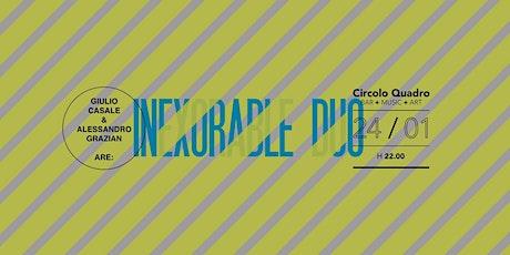 Live Inexorable Duo | Giulio Casale e Alessandro Grazian biglietti