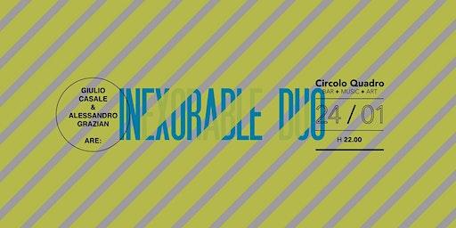 Live Inexorable Duo | Giulio Casale e Alessandro Grazian