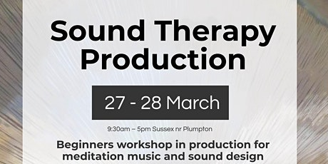 Sound Therapy Production- Beginners mindful music production workshop tickets