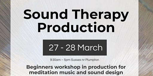 Sound Therapy Production- Beginners mindful music production workshop