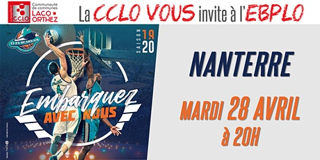 CCLO - EBPLO vs NANTERRE - 28/04/20 billets