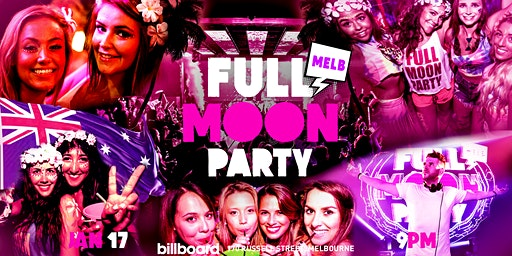 Full Moon Party Melbourne