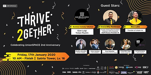 THRIVE2GETHER: Celebrating UnionSPACE 2nd Anniversary