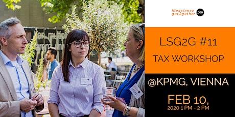 LSG2G #11 - Tax Workshop tickets