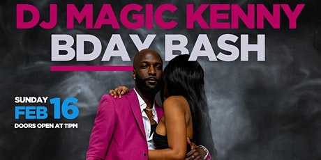 DJMAGICKENNY BIRTHDAY BASH 2020 (Dadju concert after party) tickets