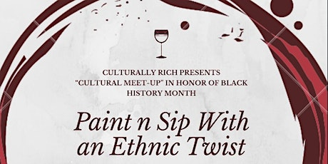 Paint N Sip with an Ethnic Twist tickets