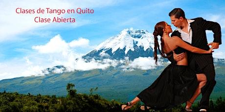 Clases de Tango en Quito - Clase Abierta entradas