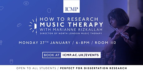 How To Research Music Therapy tickets