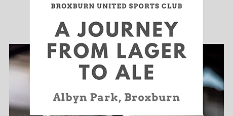 A Journey from Lager to Ale - Fundraising craft beer tasting night at BUSC tickets