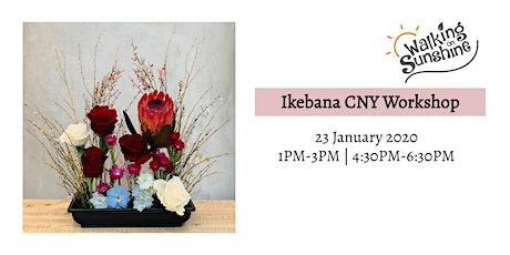 Ikebana CNY Workshop tickets