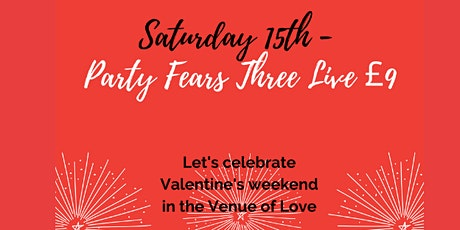 Party Fears Three Electro 80's Night Live Music tickets