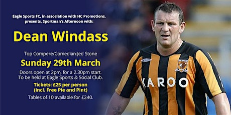 Sportsman's Afternoon with Dean Windass tickets
