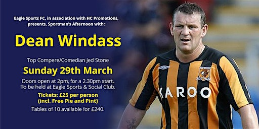 Sportsman's Afternoon with Dean Windass