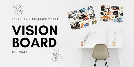 Atelier : réalisez votre vision board ! billets