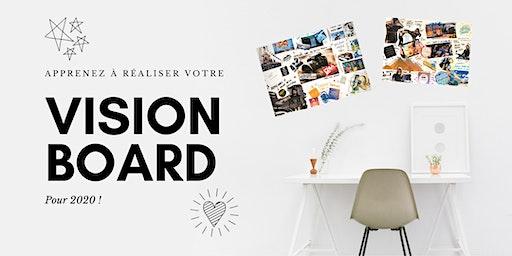 Atelier : réalisez votre vision board !