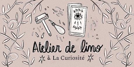 ATELIER DE LINOGRAVURE tickets