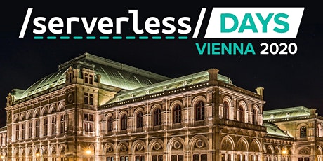 ServerlessDays Vienna 2020 tickets