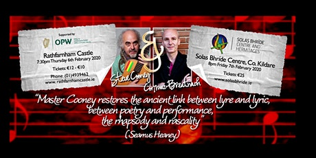 A musical evening with Steve Cooney and Cormac Breatnach tickets