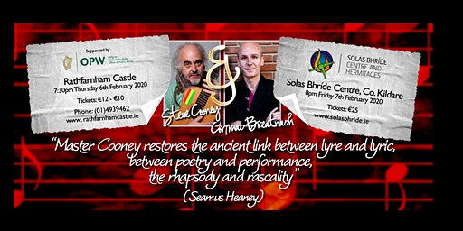 A musical evening with Steve Cooney and Cormac Breatnach