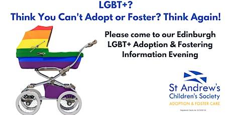 LGBT+ Adoption & Fostering Information Evening, The Regent Bar, Edinburgh tickets