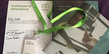 Become a Mental Health First Aider in Newport tickets