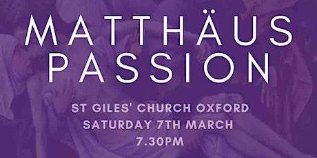 Matthäus Passion - Johann Sebastian Bach tickets
