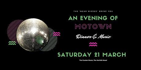 An evening of Motown tickets