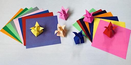 Origami Flowers Workshop