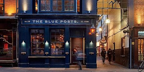 Live Jazz at The Blue Posts, Rupert Street tickets