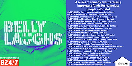 Belly Laughs with Bristol24/7 at Pieminister