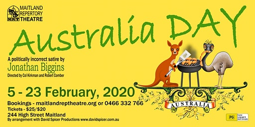 Australia Day by Jonathan Biggins