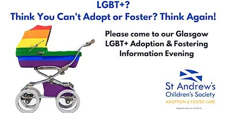 LGBT+ Adoption & Fostering Information Evening at Speakeasy, Glasgow tickets