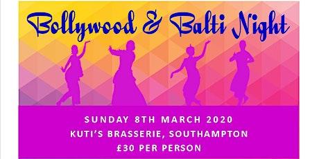 Bollywood & Balti Night tickets