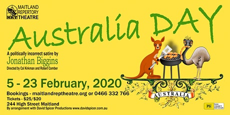 Australia Day by Jonathan Biggins tickets