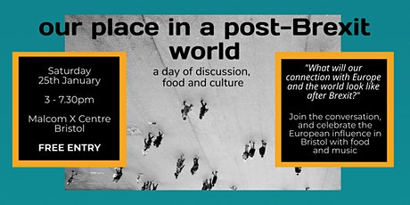 Our place in the world post Brexit with a celebration of European Culture tickets