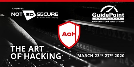 The Art of Hacking - 5 day Course. Herndon. tickets