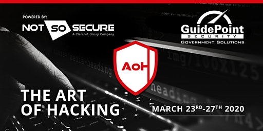 The Art of Hacking - 5 day Course. Herndon.