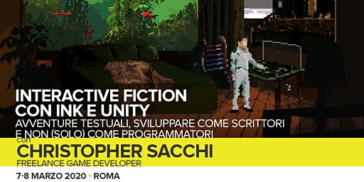 Workshop Interactive Fiction con Ink e Unity